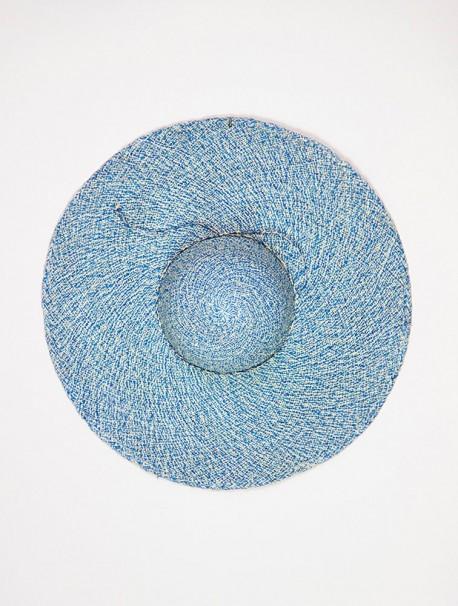 Pamela Jaspeada Azul y Natural