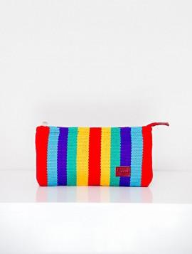 Cartera Wayuu Bandas Multicolor